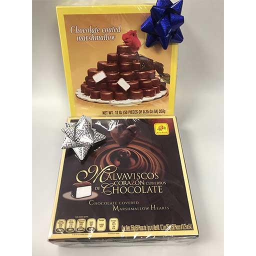 bonbones de chocolate 50 piezas