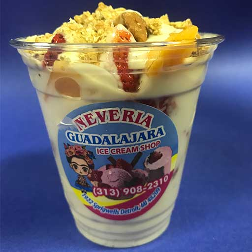 yogurt preparado